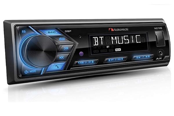 NQ711B / 1 Din USB/SD/AM FM Receiver with Bluetooth