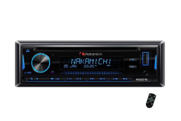 NQ821B / 1 Din CD, USB, BT, Lossless, Android App Control, Detachable