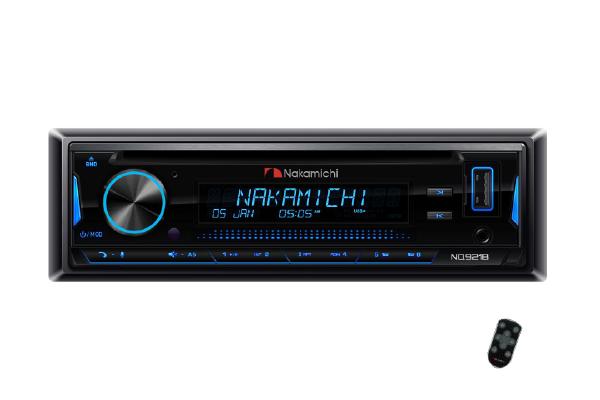 NQ921B / 1 Din CD/DVD, USB, BT, Lossless, Android App Control, Detachable
