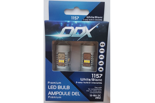 1157WHA / 1157 LED WHITE MINI BULB (BOX OF 2)
