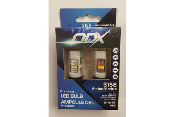 3156AMA / 3156 LED AMBER MINI BULB (BOX OF 2)