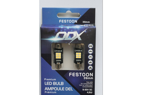 FT39A / FESTOON 39mm LED MINI BULB (BOX OF 2)