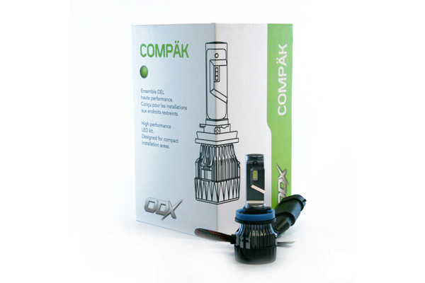 LEDCOMPAKH4 / H4 COMPAK LED BULB (BOX OF 2)