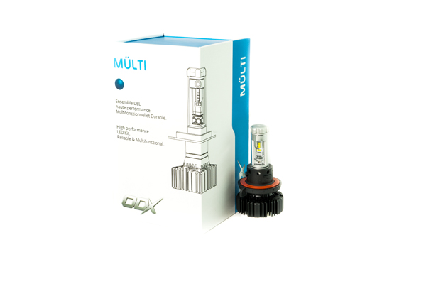 LEDMULTIH13 / H13 MULTI 6000 LUMENS LED BULB (BOX OF 2)