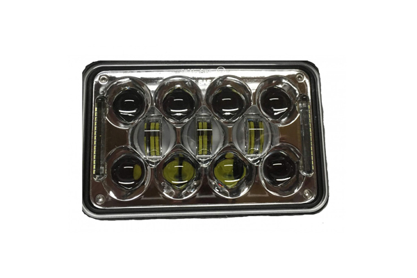 LEDSB46C / LED SEALED BEAM CONVERSION 4''X6'' CHROME (BOX OF 1)