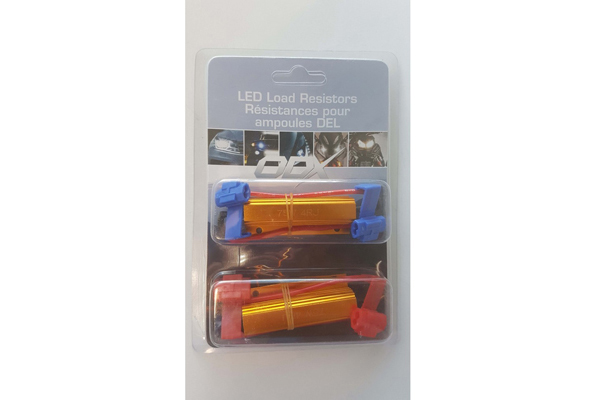 RESIST3512UNI / UNIVERSAL RESISTORS WITH CLIPS - 35W - 12 OHMS (PACK OF 2)