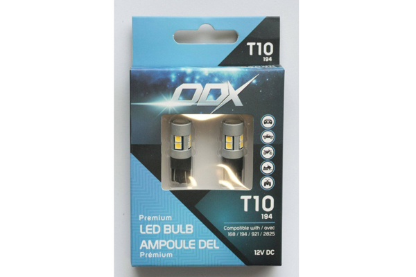T10A / 194 T10-A LED MINI BULB (BOX OF 2)
