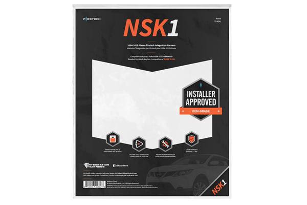 FTI-NSK1 / T-HARNESS FOR 2004-2019 NISSAN REG. KEY/INTELLI KEY GEN 1