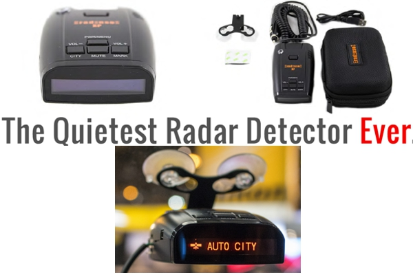 XP / THE QUIETEST RADAR DETECTOR EVER w/ CLASS LEADING RANGE