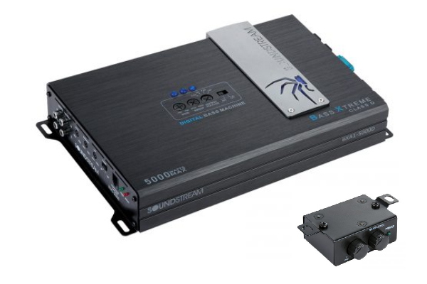 BXA1-5000D / BX SERIES 5,000 Watt Class D Monoblock Amplifier