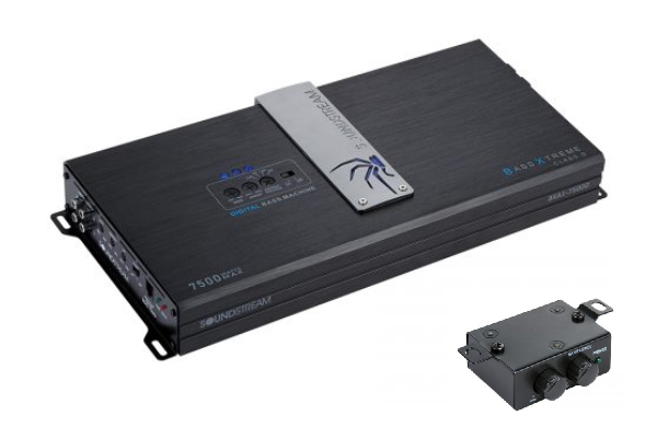 BXA1-7500D / BX SERIES 7,500 Watt Class D Monoblock Amplifier