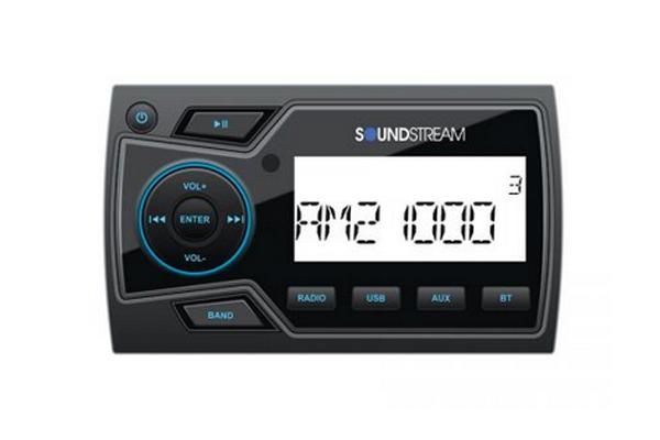 MHU-32 / Marine Grade Digital Media Player w/32GB USB Playback, Bluetooth 4.0& 2-Zone Audio