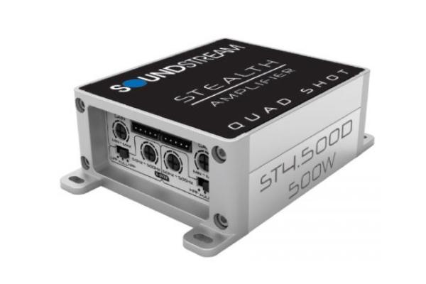 ST4.500D / Stealth Series 500w Class D 4ch. Amplifier