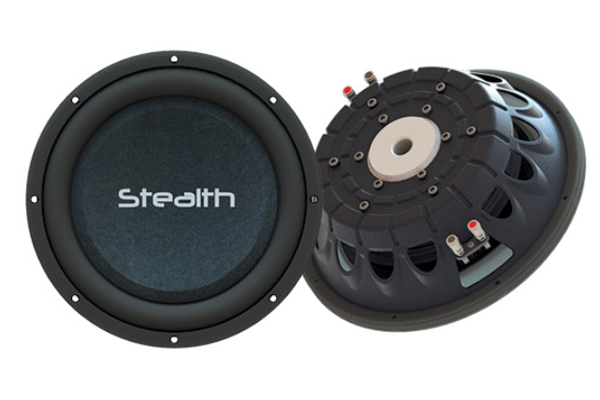 STEALTH-124 / 700 Watt 12'' Shallow Mount Subwoofer