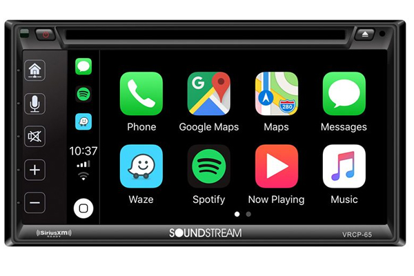 VRCP-65 / 2-DIN MULTIMEDIA RECEIVER w/ CARPLAY