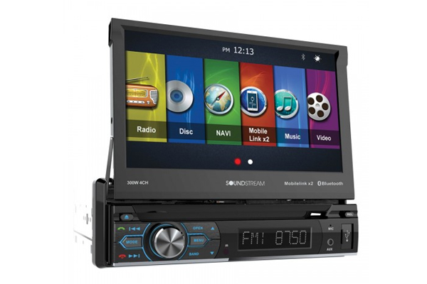 VRN-74HB / 1-DIN GPS, DVD, CD/MP3, AM/FM Receiver w/ 7