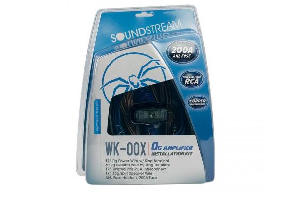 WK-00X / 0G Installation Kit w/ 200A ANL Fuse