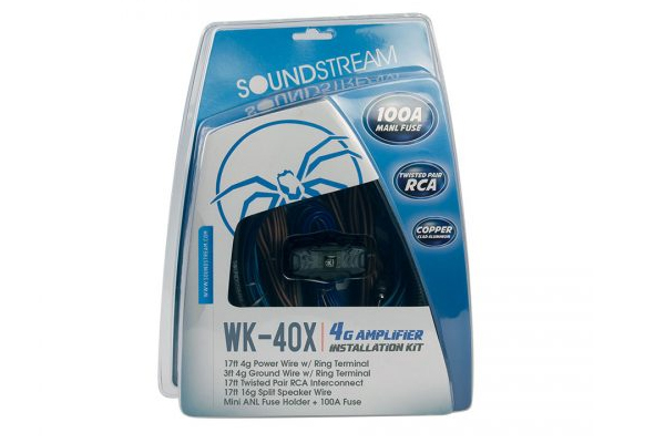 WK-40X / 4G Installation Kit w/ 100A MANL Fuse