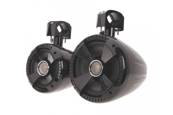 WTS-6B / Pair (2) of Gloss Black 6.5