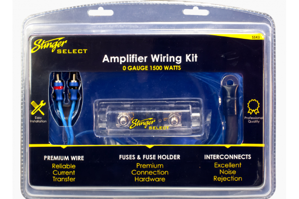 SSK0 / Stinger Select 1/0 Ga Wiring Kit
