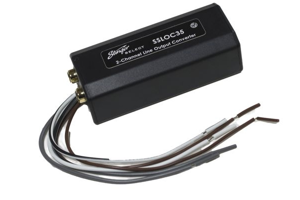 SSLOC35 / 2 Channel Loc, 6:1 Step Down A/ Adjustable Outputs 40W Max Input Stinger Select