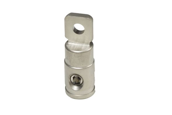 SSPR0 / 0 Ga Set Screw Ring Terminal Satin