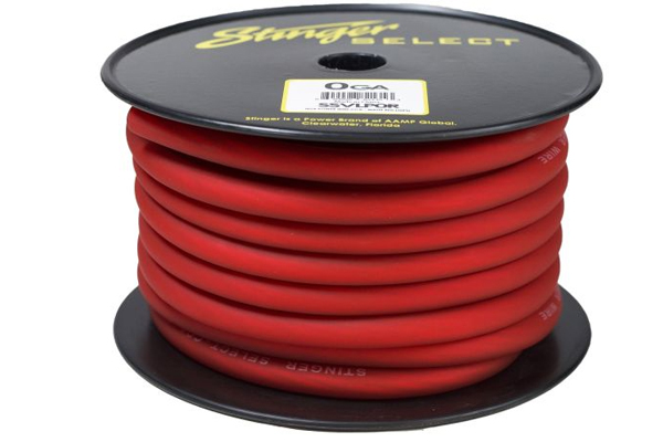SSVLP8R / Stinger Select VL Red Matte 8 Ga Power Wire - 250 ft