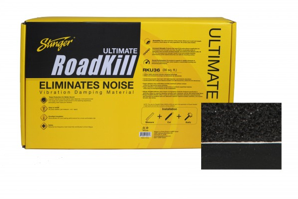 RKU8 / RoadKill Ultimate Damping 8 Sq Ft Bulk Pack Dual Layer Damping 2 Pcs 18