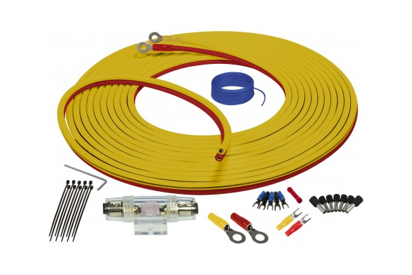 SEA4243 / Marine Complete Amplifier Installation Kit 4GA/3meter