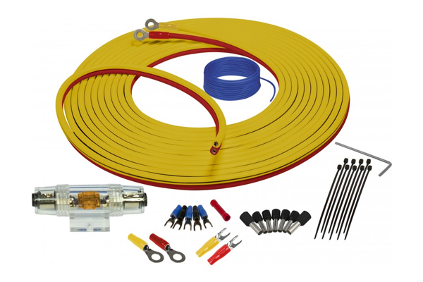 SEA4287 / Marine Complete Amplifier Installation Kit 8GA/7meter