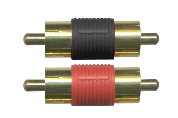SGI21 / GOLD DOUBLE MALE RCA SPLICE (2)