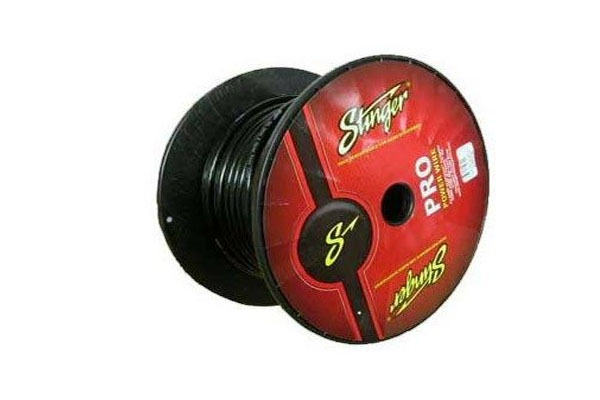 SPW10TB / 0 GA BLACK POWER WIRE PRO 50FT'