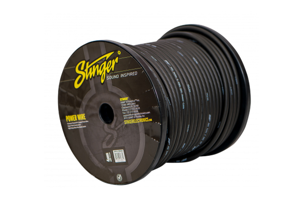 SPW14TB250 / 4 GA BLACK POWER WIRE PRO 250FT'