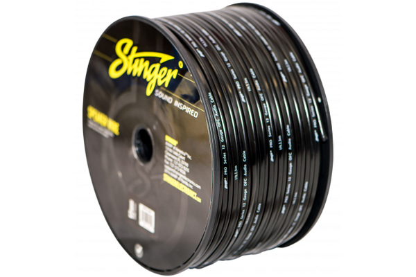 SPW512BK / 12 GA BLACK SPEAKER WIRE 250FT'