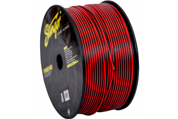 SPW520RB / 20 Ga Spk or Power-Ground 1000 Ft Low Current Hook up Wire