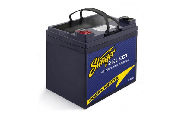 SSB2000 / Stinger Select 2000W AGM Battery 35AH. 7.72