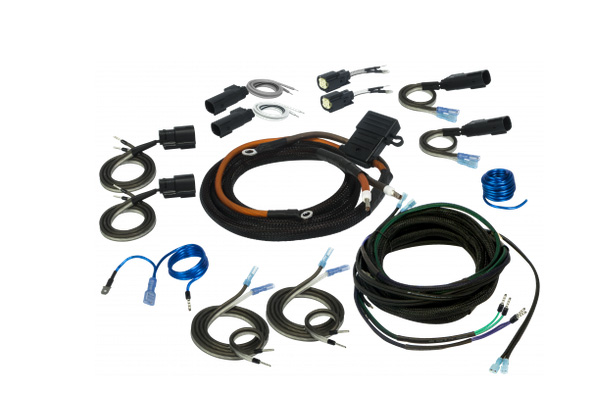SVTK4681 / Harley-Davidson 2/4 Channel Universal Amplifier Wiring Kit