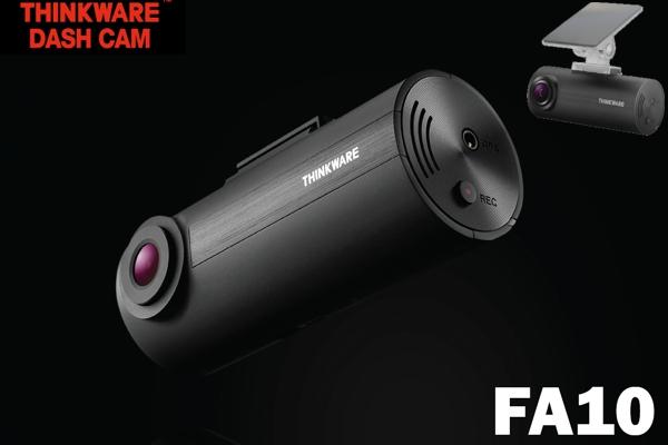 F70CH / 1-CHANNEL 1080p DASHCAM, 8GB, 12V CLA & HARDWIRE