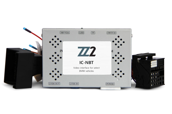 IC-NBT-TV / BACKUP & FRONT VIEW CAMERA INTERFACE BMW