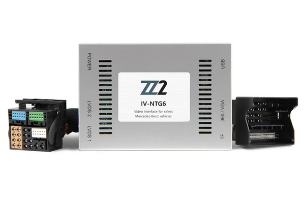 IC-NTG6 / BACKUP & FRONT VIEW CAMERA INTERFACE MERCEDES BENZ