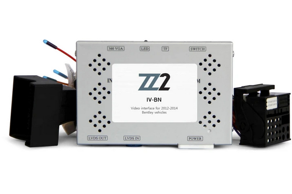 IV-BNT / VIDEO INPUT INTERFACE / BACKUP and FRONT CAMERA BENTLEY