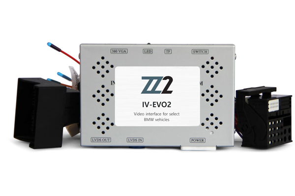 IV-EVO2 / VIDEO INPUT INTERFACE / BACKUP and FRONT CAMERA BMW