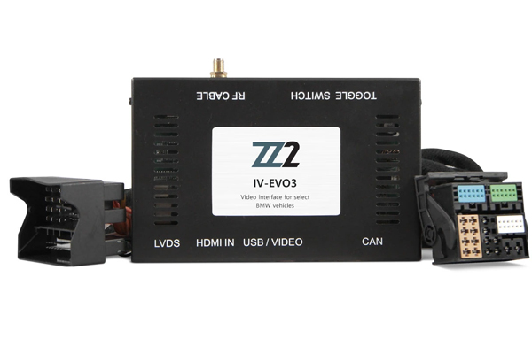 IV-EVO3 / VIDEO INPUT INTERFACE / BACKUP and FRONT CAMERA BMW