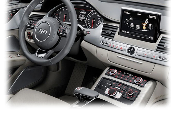 IV-MMI3G / VIDEO INPUT INTERFACE / BACKUP and FRONT CAMERA AUDI
