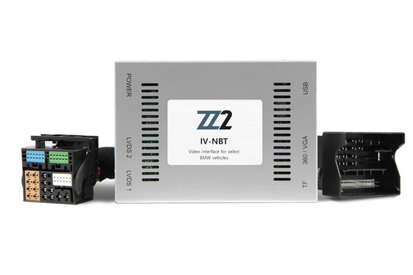 IV-NBT / VIDEO INPUT INTERFACE / BACKUP and FRONT CAMERA BMW