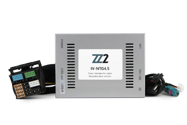 IV-NTG4.5 / VIDEO INPUT INTERFACE / BACKUP and FRONT CAMERA MERCEDES BENZ