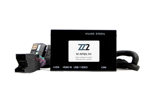 IV-NTG5.1H / VIDEO INPUT INTERFACE / BACKUP and FRONT CAMERA MERCEDES BENZ
