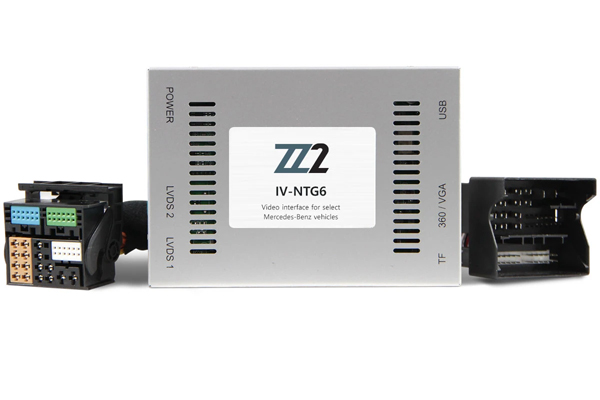 IV-NTG6.0 / VIDEO INPUT INTERFACE / BACKUP and FRONT CAMERA MERCEDES BENZ