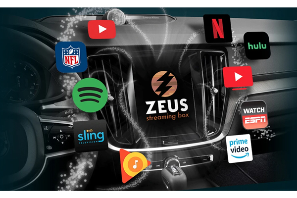 ZEUS / Video Streaming Interface - Compatible with vehicles with factory CarPlay