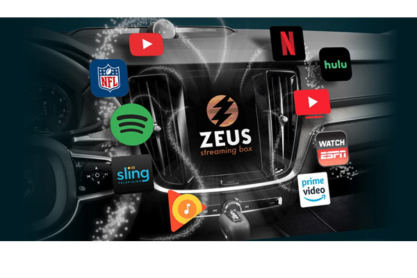 ZEUS+ / Video Streaming Interface - Compatible with vehicles with factory CarPlay